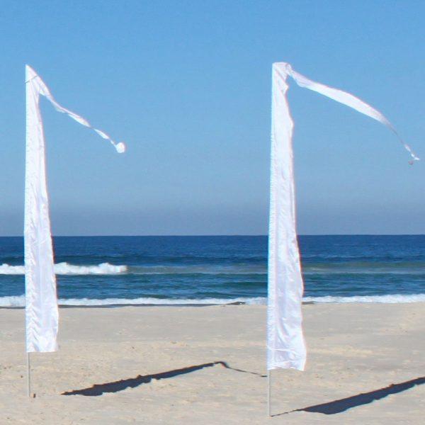 white bali flag 5m