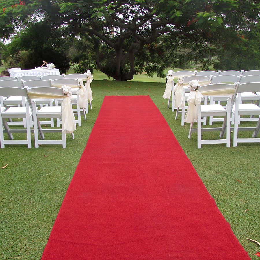 Red Carpet Aisle Runner 6m Brisbane