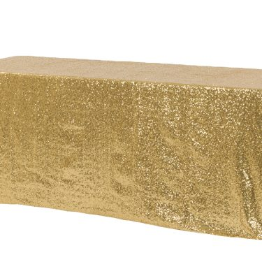 Gold Sequin Tablecloth Rectangle